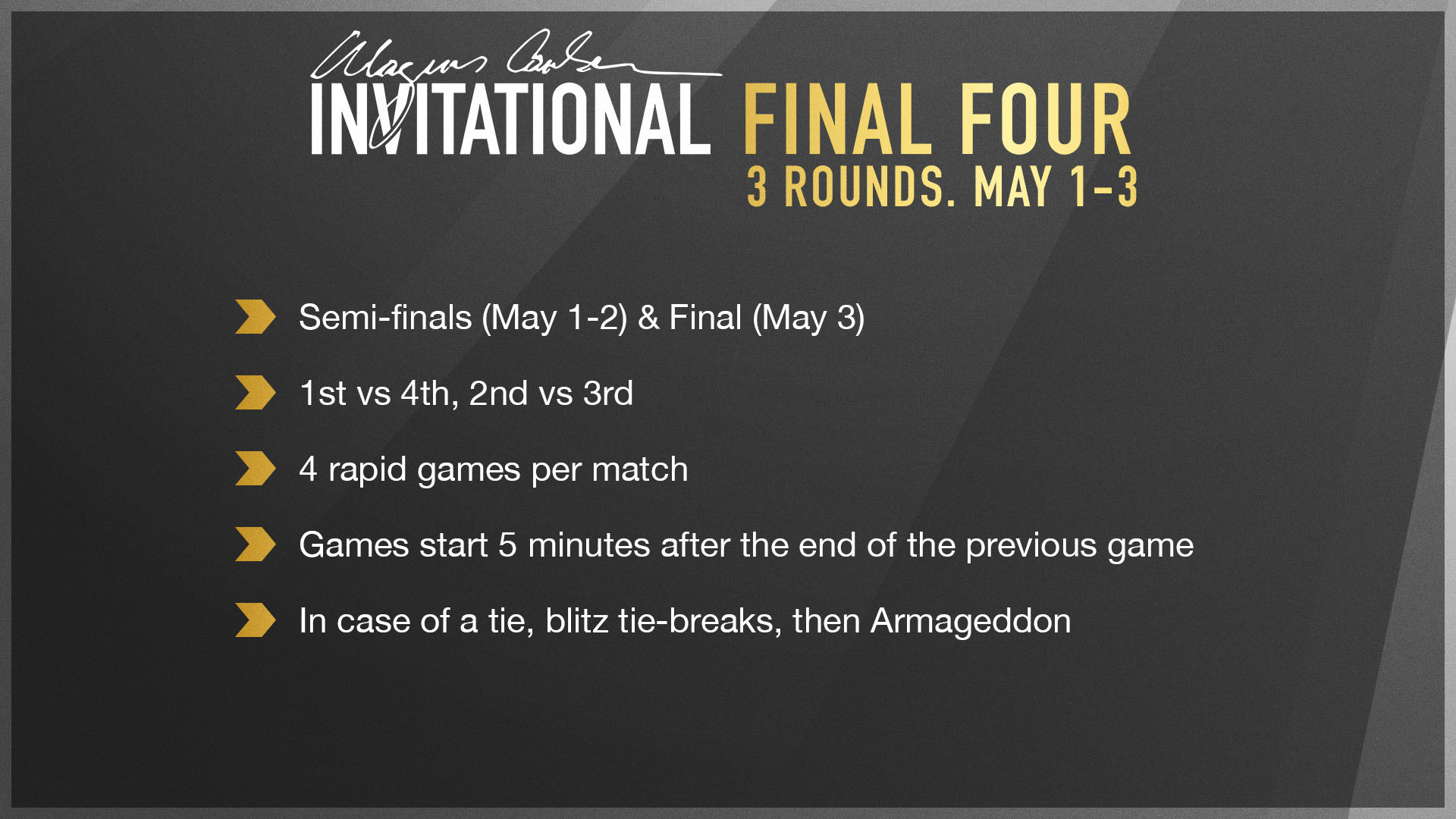 final four rules